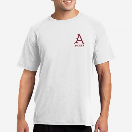Dry Fit Short Sleeve with Left Chest Logo