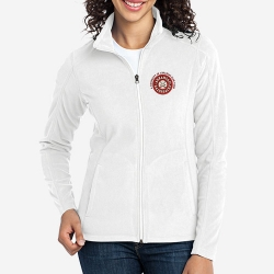 Ladies Micro Fleece Full Zip