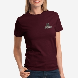 Ladies T-Shirt Left Chest Logo