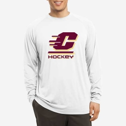 Dry Fit Long Sleeve with Large Logo
