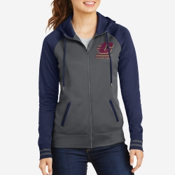 Ladies' Varsity Fleece Full-Zip Hooded Jacket
