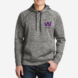 Electric Heather Fleece Hooded Pullover