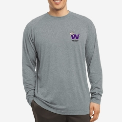 Dry Fit Long Sleeve with Left Chest Logo